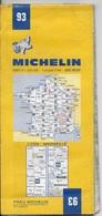 MICHELIN 93  1/200000  LYON MARSEILLE - Cartes Routières