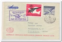 Tsjechoslowakije 1962, Helicopterletter - Hélicoptères