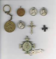 Verscheide Medailles 1 In Zilver - Godsdienst & Esoterisme