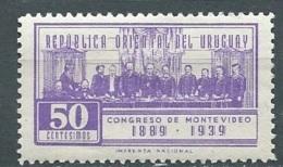 URUGUAY  - YVERT N°  509 *  - Po57128b - Uruguay