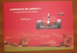 FOLDER XX° GRANPREMIO SAN MARINO FORMULA 1 - Automobilismo
