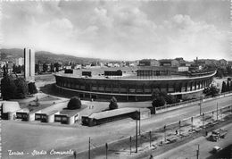 """07389 """"TORINO - STADIO COMUNALE""""  ANIMATA, CAMION, VERA FOTO, S.A.C.A.T. 528.  CART NON SPED - Stadiums & Sporting Infrastructures"""