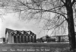 """07391 """"TORINO - NUOVA CHIESA DEL REDENTORE - VIA DEL PRETE """"  VERA FOTO, S.A.C.A.T. 42199.  CART NON SPED - Églises"""