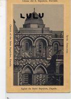 ASIE Israel-Palestine : Jérusalem église Du Saint Sépulcre La Façade - Israel
