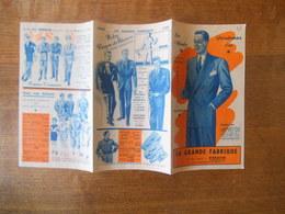 VERDUN LA GRANDE FABRIQUE 52 RUE MAZEL  DEPLIANT PUBLICITAIRE LA MODE PRINTEMPS ETE - Advertising