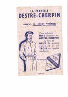 BUVARD   LA FLANELLE DESTRE CHERPIN - Buvards, Protège-cahiers Illustrés
