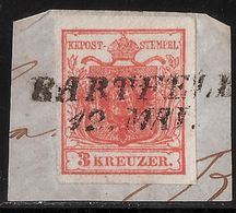 3 Kr. Selt. Type, Ungarn-Stp. ,  # A05 - 1850-1918 Empire