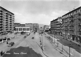 """07399 """"TORINO - PIAZZA CHIRONI"""" ANIMATA, AUTO, DISTRIB, AQUILA E FINA,VERA FOTO, S.A.C.A.T. 1297. CART NON SPED - Places & Squares"""