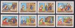 FUJEIRA AERIENS N°   46 ** MNH Neufs Sans Charnière, 15 Valeurs, TB (D5036) Chemin De Croix. Apotres - Fujeira