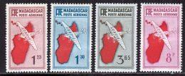 Madagascar PA 1935 Yvert 2 - 3 - 5A - 8 * TB Charniere(s) - Madagascar (1889-1960)