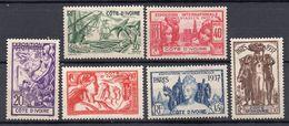 COSTA D'AVORIO Francese 1937 Esposizione Parigi  MH /* - Stamps