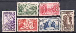 GUINEA Francese 1937 Esposizione Parigi  MH /* - Stamps