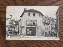 Cpa Dpt 55 -- Verdun -- Rue Saint Victor -- Rue Du Pont Saint Pierre  -- 1908 - Verdun