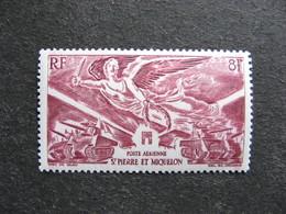 A). Saint Pierre Et Miquelon: TB PA N°11, Neuf X. - Poste Aérienne