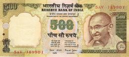 INDIA 500 RUPEES ND (2000) P-93b UNC PLATE LETTER A. SIGN. BIMAL JALAN [IN277a2] - India