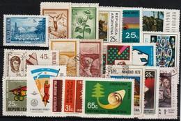 ARGENTINIË - 1971 - Lotje Van 22 Zegels  - USATO/USED/OBLIT./GESTEMPELD/GEBRAUCHT - ° - Oblitérés