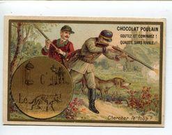 Rébus Chocolat Poulain  Chasse Loup - Poulain