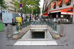 Paris X (75)- Station Gare Du Nord USFRT (Edition à Tirage Limité) - Stations, Underground