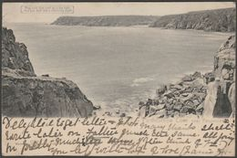 Hold To Light - Porthcurnow Cove Near Penzance, Cornwall, 1904 - Hagelberg Postcard - England