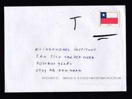 Netherlands: Cover, Fake Stamp, Postal Fraud, Postage Due, Taxed (traces Of Use) - 1980-... (Beatrix)