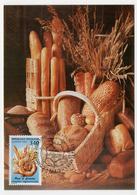 Carte Postale Maximum Variétés Pain Et Céréales 1992 état Superbe - Autres