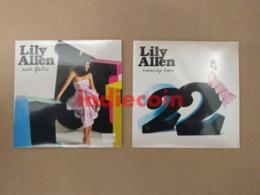 LILY ALEN Not Fair + 22 /  2x  Cardboard CD Singles NEW Still SEALED - Music & Instruments
