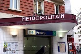 Paris XIV(75)-Station Pernety (Edition à Tirage Limité) - Stations, Underground