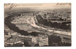 75 - PARIS . Panorama De La Seine Pris Du Trocadéro - Réf. N°7083 - - Multi-vues, Vues Panoramiques