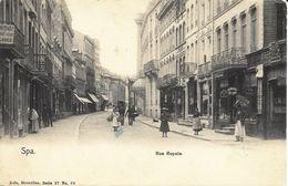 SPA - Rue Royale - Carte Précurseur N'ayant Pas Circulé - Nels, Série 27, N° 68 - Spa