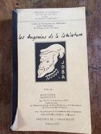 Angers Les Angevins De La Littérature Université D Angers Sciences Humaines Presse De L Université 671 Pages - Pays De Loire