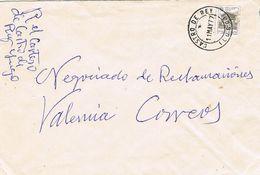 27572. Carta CASTRO Del REY (Lugo) 1977. Remite CARTERO, Mutualidad Postal - 1931-Hoy: 2ª República - ... Juan Carlos I