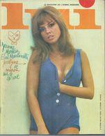 LUI  N° 26 FEVRIER 1966 - ASLAN  ( NUS - NUE - NU ) ELSA MARTINELLI / JEANNE MOREAU - Erotik (...-1960)