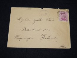 Belgium 1916 Censored Cover To Netherlands__(L-11625) - Covers & Documents