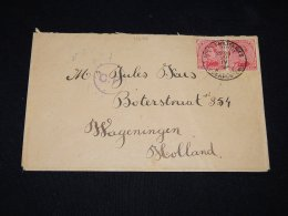 Belgium 1916 Censored Cover To Netherlands__(L-11626) - Covers & Documents