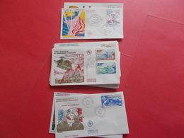 TERRES AUSTRALE 1 Lot D'enveloppes 1er Jours De L' Année 1980 / 1981 / 1982 - Stamps