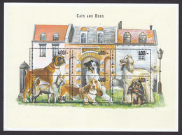 Tanzania, Scott #1979, Mint Never Hinged, Dogs, Issued 1999 - Tanzania (1964-...)