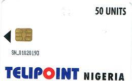 PHONECARDS-   TELIPOINT -NIGÉRIA- 50 UNITS - Nigeria