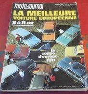 L'Auto Journal N°6 25 Mars 1971 Essai Moto Guzzi V7, Ski Vars Orcières Merlette Pra Loup,Rallye Lyon Charbonnières - Auto/Moto