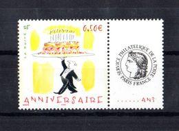 FRANCE Timbres Personnalisés Yvert N°3688A  Anniversaire - France
