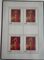 1969  ART  Paintings Frantisek Muzika   Block 4 -mint -  Neuf Avec Gomme Originale - MUH ** Parfait - Ungebraucht