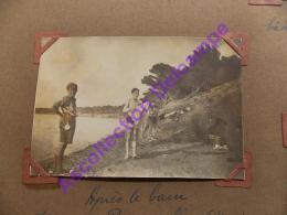1926 Scout Scoutisme  Camp De Provence Apres Le Bain Ile De Porquerolles - Personnes Anonymes