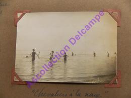 1926 Scout Scoutisme  Camp De Provence Les Chevaliers à La Nage En Maillot De Bain - Personnes Anonymes