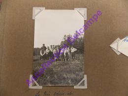 Scout Scoutisme 1928 Photo Camp De Pentecote à L Hermitage Loire Le Pere Odin Et Quelques Membres Du Group Sur La Montag - Personnes Anonymes