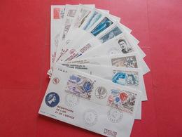 TERRES AUSTRALE 1 Lot D'enveloppes 1er Jours De L' Année 1984 - Stamps