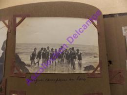 Scout Scoutisme 1928 Photo Camp De Mormandie Quelques Campeurs Au Bain Maillots De Bains - Personnes Anonymes