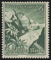 678 WHW Großglockner/Edelweiß 6+4 Pf ** - Duitsland