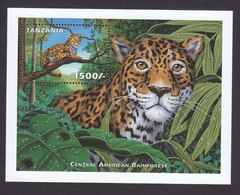 Tanzania, Scott #1985, Mint Never Hinged, Animals Of Central America, Issued 1999 - Tanzania (1964-...)