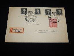 Czechoslovakia 1937 Praha Special Cancellation Cover__(L-11419) - Cecoslovacchia