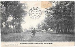NEAUPHLE-le-CHATEAU --L'entrée Des Bois De Villiers St-Fréderic -(Chasseur Traversant ) - Neauphle Le Chateau