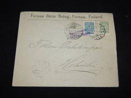 Finland 1914 Censored Business Cover__(L-12500) - 1856-1917 Russian Government